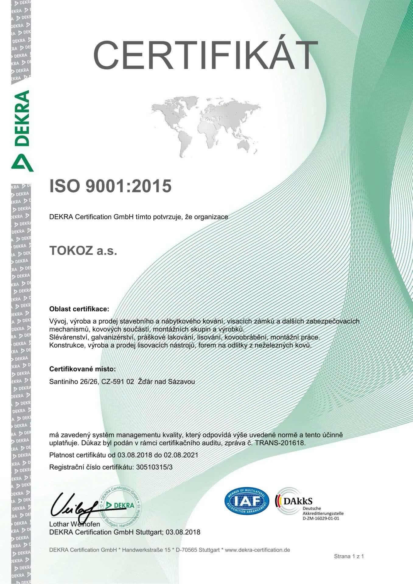 QMS_TOKOZ_ISO_9001-2015_CZ_01